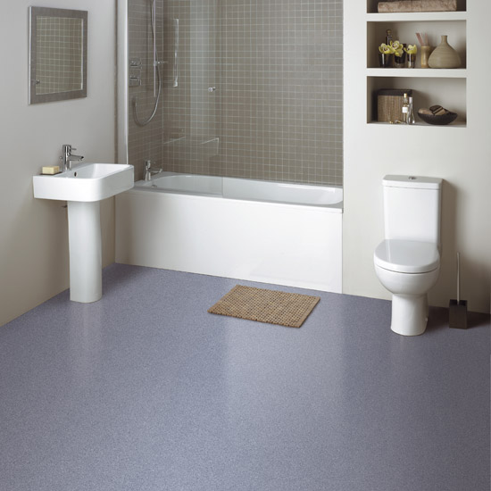 slip resistant flooring - Bathroom Vinyl Flooring