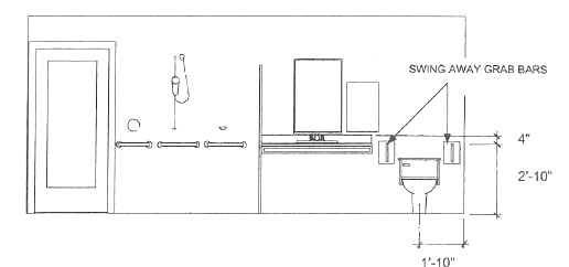 Toilet Grab Bar Height Ada handicap grab bars: types and placement for bathroom safety