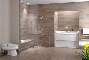 Universal Design Bathroom Best Handicap Bathroom Design for the