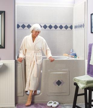 Walk-in Bathtubs for the Disabled and the Elderly |